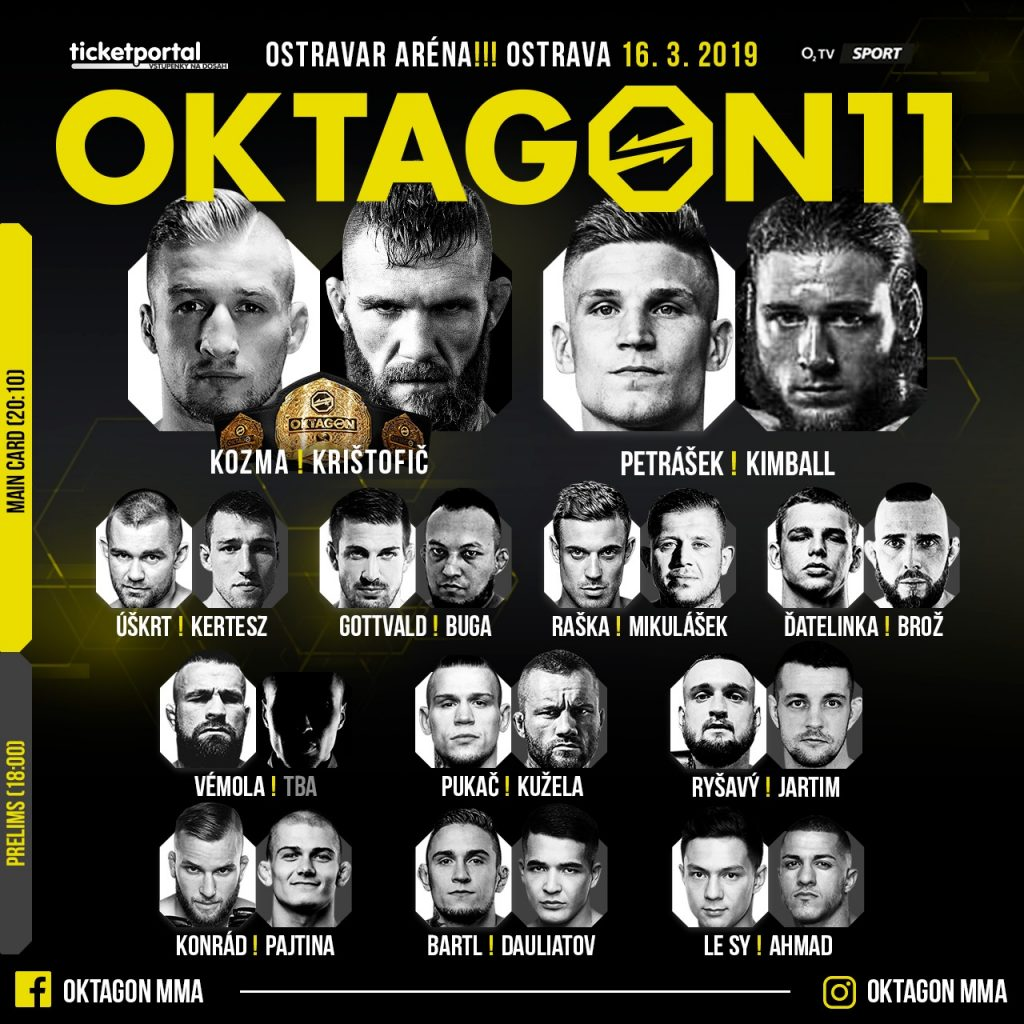 OKTAGON Fight Card